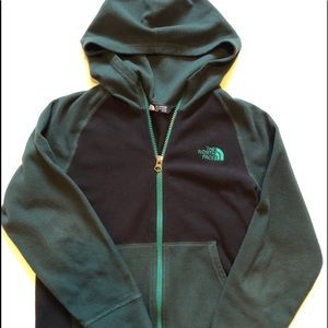 Boys North Face Zip Up Hoodie Size 10/12